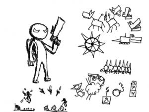 Concept Art de l'antagoniste