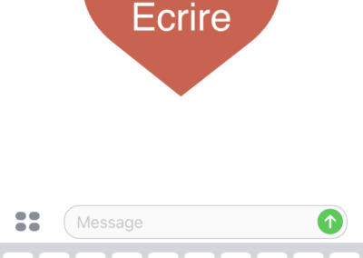 Capture d'écran extension iMessage Romance-1